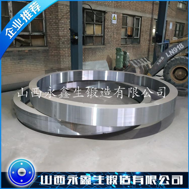 Q345铁辊环锻件