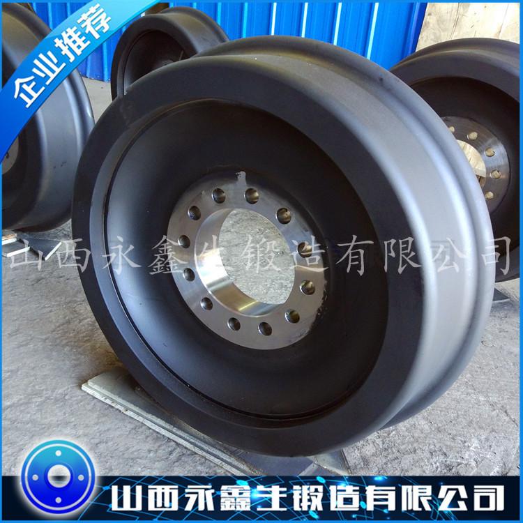 辗钢车轮锻件