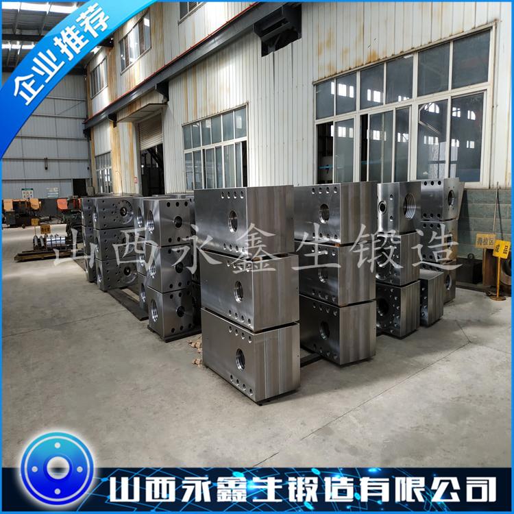 40CrMnMo石油钻井泥浆泵锻件