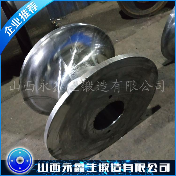 丝杠焊接滚轮架锻件