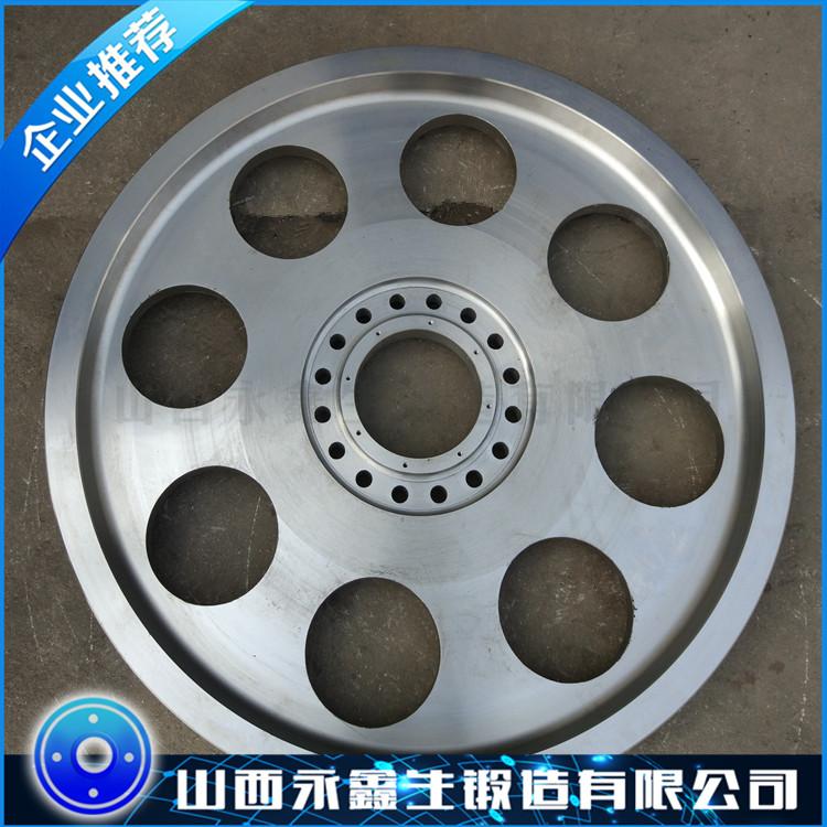 混凝土搅拌站车轮锻件